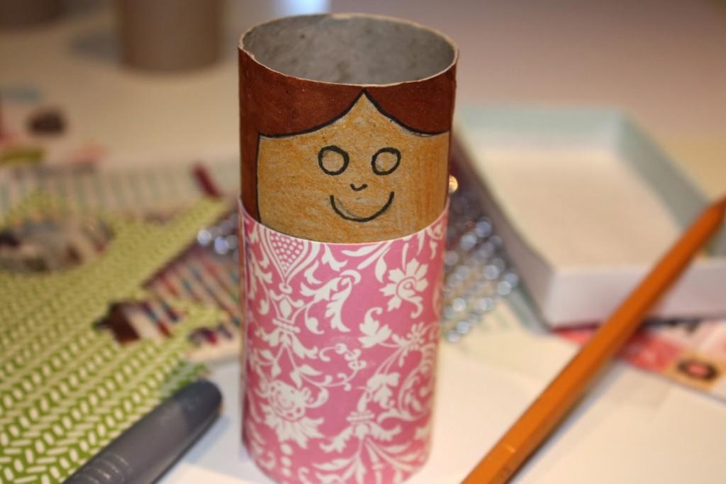 3 manualidades para hacer en navidad - Manualidades rollos de papel ...