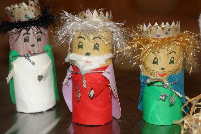 3 Manualidades Para Hacer En Navidad - Manualidades-con-rollos-de-papel-higienico-para-navidad