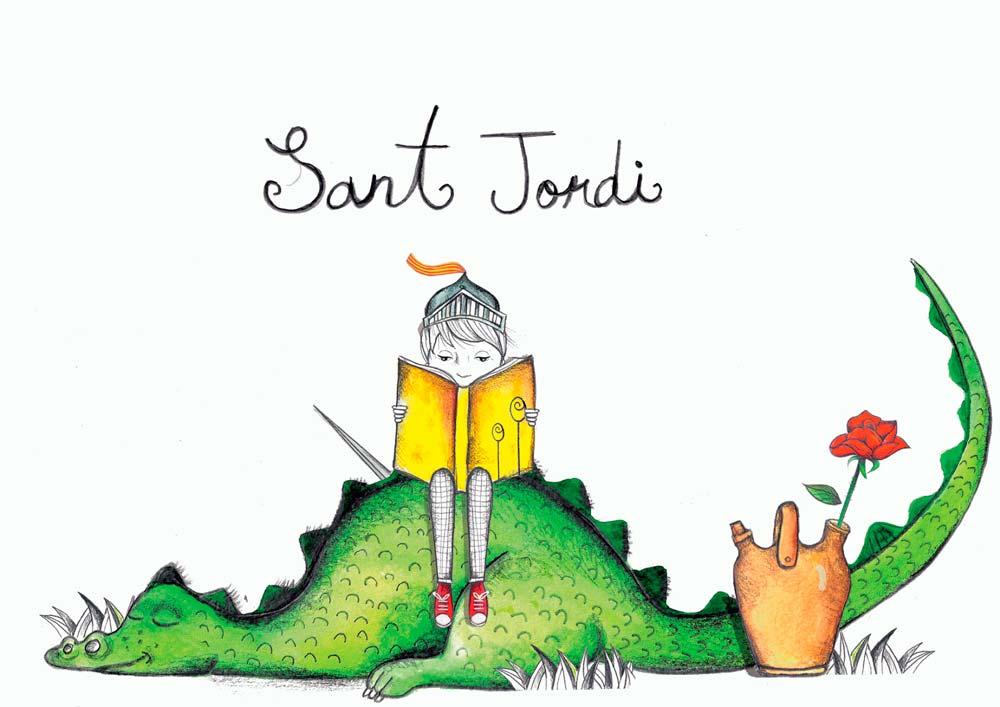 Sant-Jordi-Dibujo