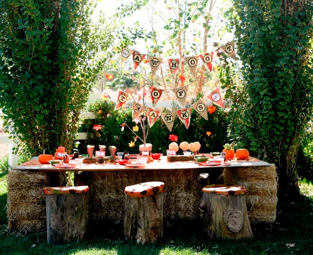 5 tips para organizar una fiesta infantil al exterior for Decoracion parques