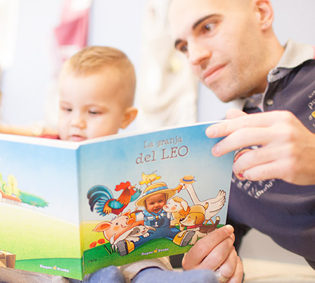 How should you read to 0-5 year olds?